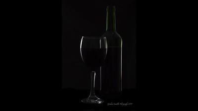 Wine And Bottle Set Up
