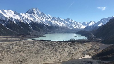 Tasman Glacier Lake , Mt Cook