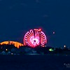 A timelapse video of the Full Moon rising behind the Casino Pier ferris wheel in Seaside Heights, Jersey Shore, NJ.