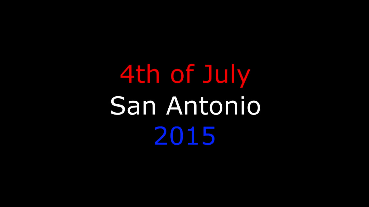 4th of July in San Antonio