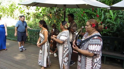Music at the Fern Grotto, Kauai