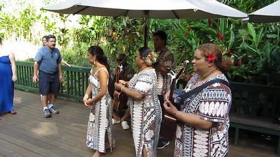 Music at the Fern Grotto, Kauai