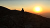 Sunset from the summit of Mount Madison