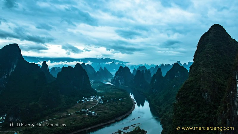 Guilin Timelapse Photography