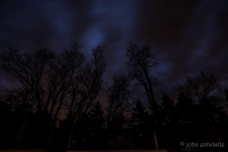 Lightning Storm Timelapse 4/1/16