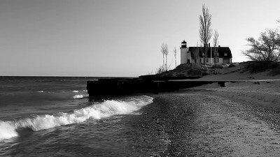 Silent Light - Point Betsie Lighthouse (Michigan)