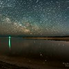 Star Trails Reflecting In A Tidal Pond 3/21/21