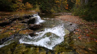 Autumn Drops - Lower Au Train Falls (Au Train, MI)