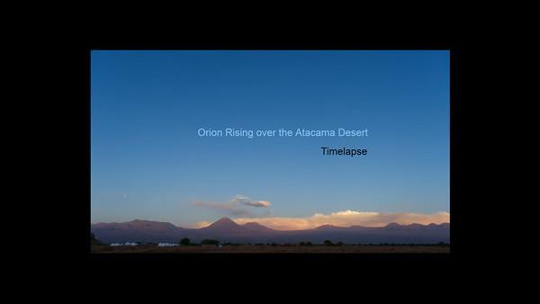 Orion Atacama