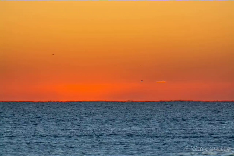 Sunrise on the Atlantic Ocean Horizon