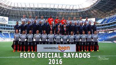 Foto Oficial Rayados 2016