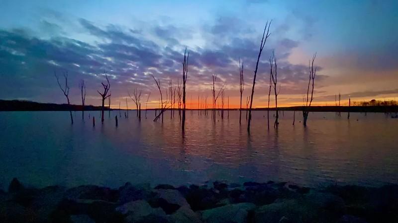 A Timelapse Video Of Sunrise Over The Manasquan Reservoir 1/11/20