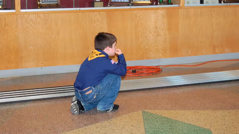 Cole's Pinewood Derby-2008