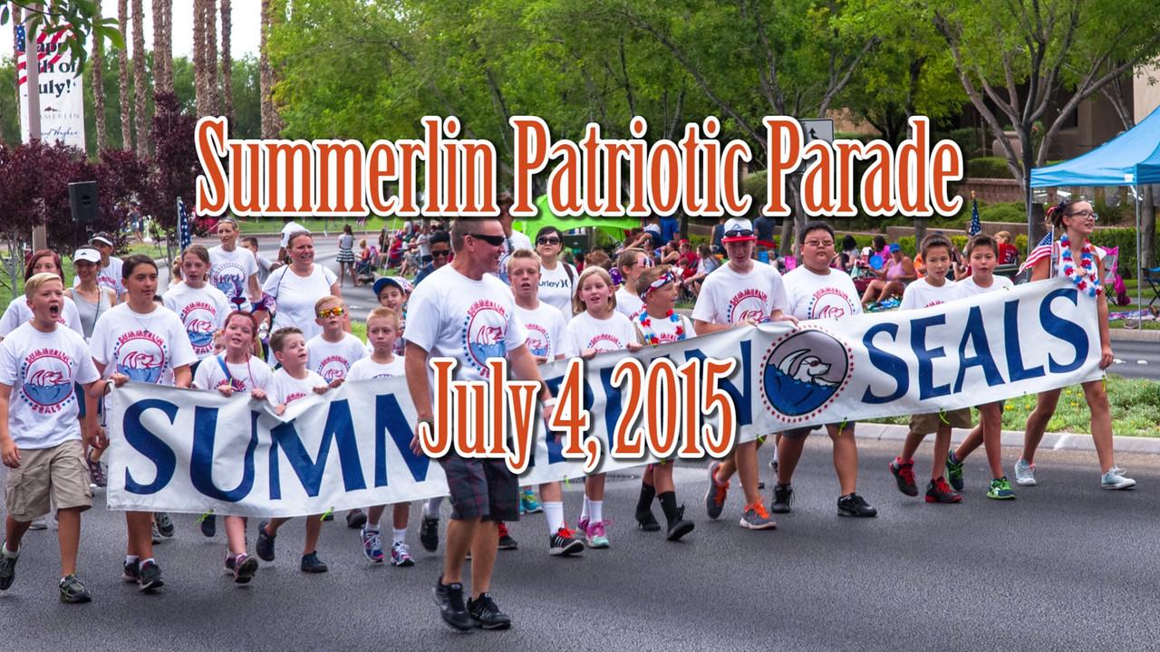 Summerlin Patriotic Parade, July 4, 2015