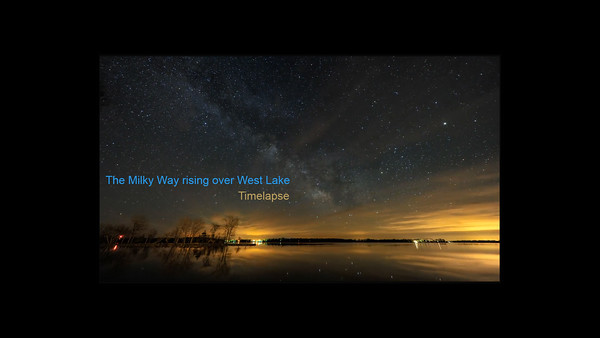 Milky Way Timelapse