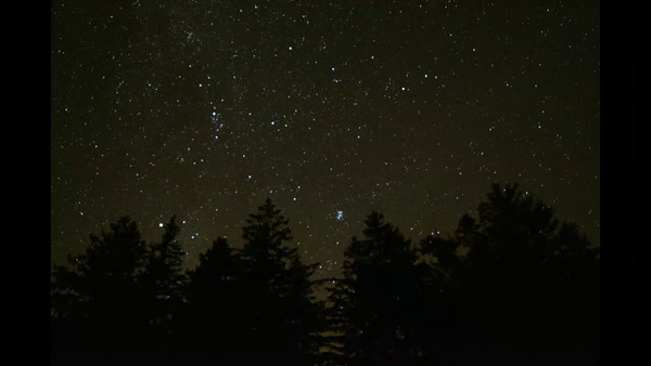 Timelapse movie of Night Sky Rising