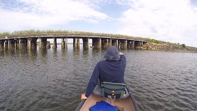 Tom Brooks, returning through Nonesuch River trestle