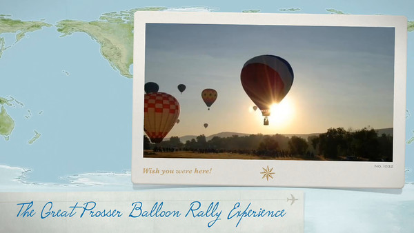 The Great Prosser Balloon Rally  abord the 7th Heaven Balloon