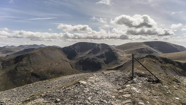 Time Lapse : On Grisedale Pike Summit