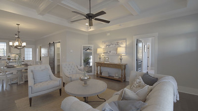 Custom Home Staging- Before and After