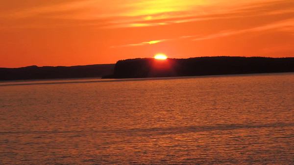 Sunset at Topsail Beach, NL, CA