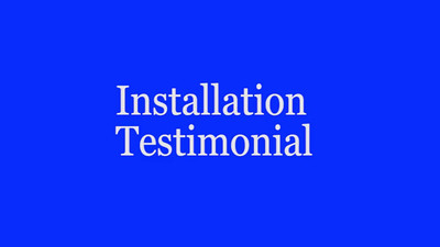 Window Installation Testimonial