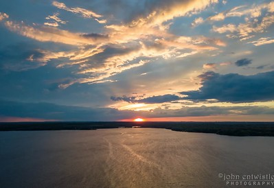 Timelapse Video of Sunset Over Manasquan Reservoir 6/5/18