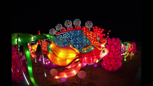 China; Lights To help Las Vegas celebrate the Year of the Dog, China Lights was performed at the Craig Ranch from Jan. 19 to Feb. 25, 2018. The Lantern Festival included hundreds of larger-than-life, fully-illuminated, lanterns, as well as Chinese cultural performances and special handicrafts.
