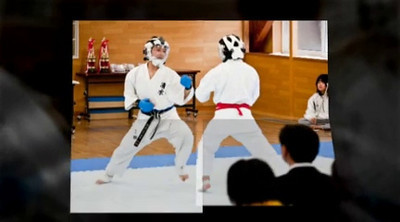 A karate tournament in Obihiro: Shimizu High School VS Obihiro's Agricultural High School