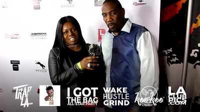 Interview Red Carpet Shout Outs @ I Got The Bag NBA All Star Weekend Party