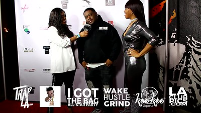 Interview Cris Siege Second Interview @ I Got The Bag NBA All Star Weekend Party