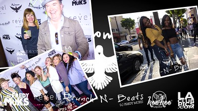 Brunch-N-Beats Hollywood Day Party Official Launch @ Paloma Tequileria