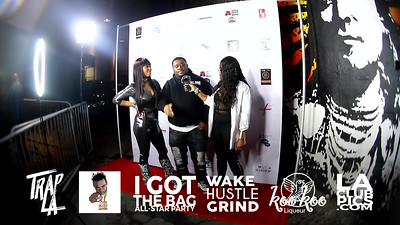 Interview Cris Siege Interview @ I Got The Bag NBA All Star Weekend Party