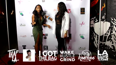 Interview Malaysia Winter of LacedByLayy Interview @ I Got The Bag NBA All Star Weekend Party