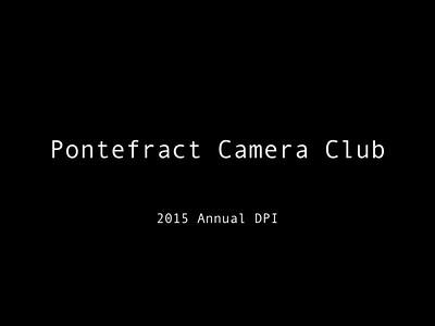 2015 Annual DPI