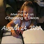 Making a List 08.24.2004