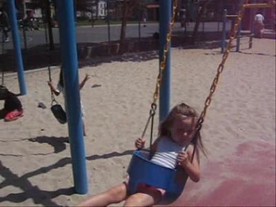 Katie Swings 08.28.2004