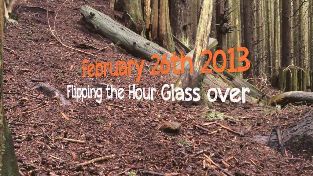 FEBRUARY 26th 2013 FLIPPING THE HOURGLASS