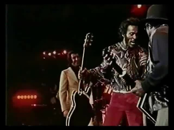 Chuck Berry & Bo Diddley Together LIVE