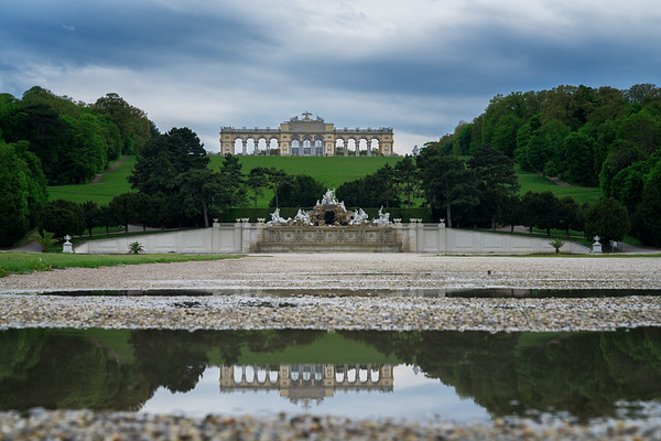 Gloriette in the puddle
