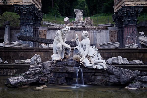 Roman Ruins fountain
