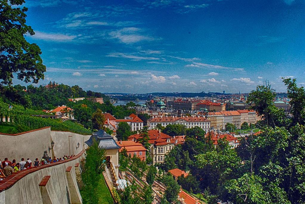Birds Eyeview of Prague