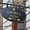 Demel is reportedly Vienna's finest bakery and cafe where  we enjoyed a sumptuous noon time feast