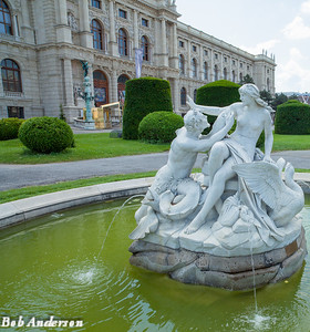 Statue outside the Museum of History, Vienna