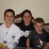 Bryce, Brenda, Evan Baughman May 2015