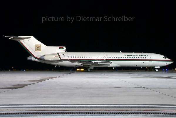 2007-12-02 XT-BFA Boeing 727-200 Burkina Faso