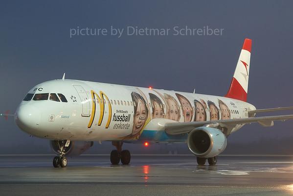 2007-12-26 OE-LBC Airbus A321 Austrian Airlines