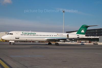 2007-12-05 YR-FKA Fokker 100 Carpatair