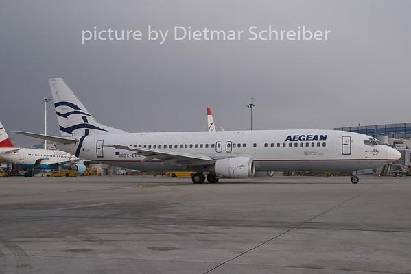 2008-12-30 SX-BGS Boeing 737-400 Aegean
