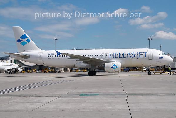 2009-05-07 SX-BVL Airbus A320 Hellasjet